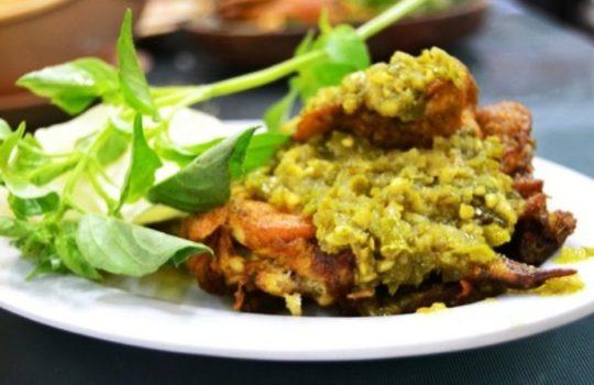 Resep Ayam Goreng Sambal Ijo Pedas Cara Mudah Membuat