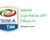 Update Jadwal Liga Italia 2017 Pekan ke 14