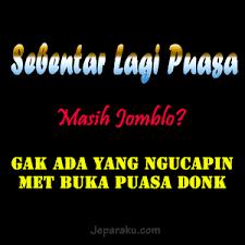 DP BBM Puasa Ramadhan Untuk Jomblo
